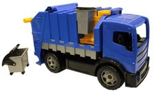 LENA popelářské auto 72 cm modré