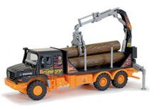 Nákladní auto Explorer se dřevem