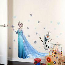 Nálepky na stěnu Frozen