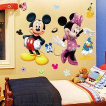 Nálepky na stěnu Mickey Mouse 70 x 50
