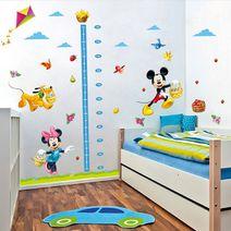 Nálepky na zeď - Mickey Mouse metr