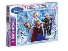 Puzzle Frozen Olaf 104 dílny