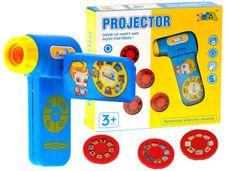 Ruční kamera projektor pro děti