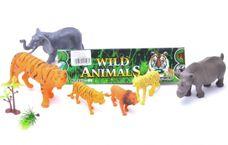 Sada divokých zvířat 6 ks