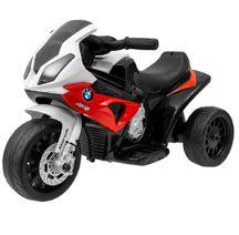 Sportovní elektrická motorka BMW červená