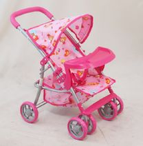 Sportovní kočárek pro panenky Baby Mix 9304BW-T- M1404