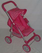 Sportovní kočárek pro panenky Baby Mix 9353-M1422