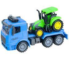 Souprava nákladní auto + traktor