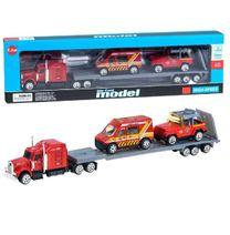 Souprava hasičských aut