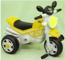 Tříkolový traktor yellow HZ-221 Baby Mix