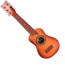 Velká dětská dřevěná kytara
