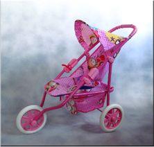 Športový kočík pre bábiky Zuzia