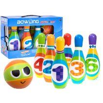 Zábavné barevné kuželky pro děti