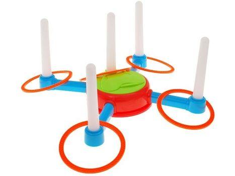 Arkádová hra - házení kruhem