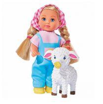 Panenka Evi s ovečkou