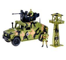Bojové vozidlo s vojákem