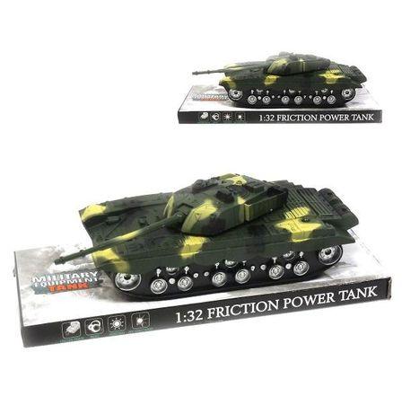 Bojový tank na baterie 27 cm