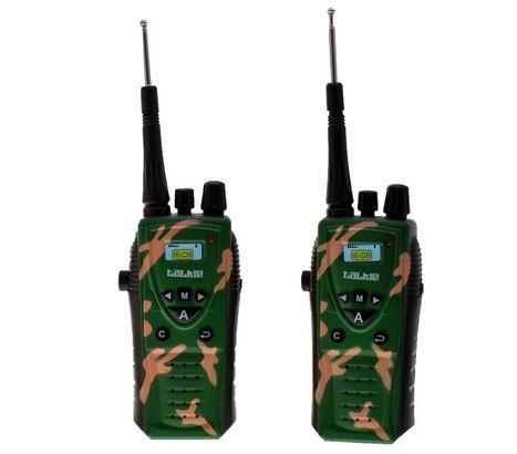 Dětská krátkovlnná vojenská vysílačka
