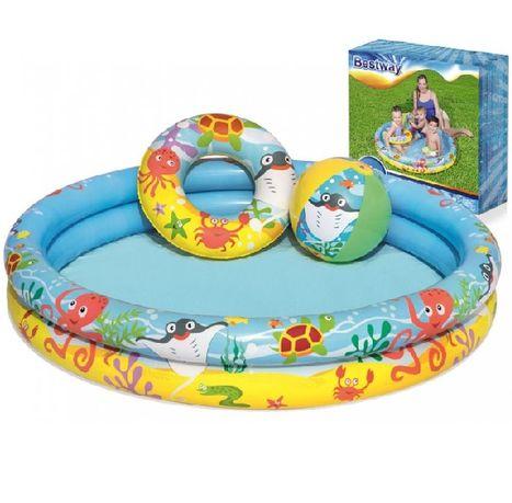 Dětský nafukovací bazén 122 cm - Bestway 51124