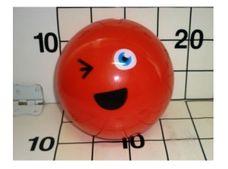 Gumový míč 14 cm