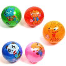 Gumový míč 17 cm - zvířátka