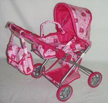 Hluboký kočárek pro panenky Baby Mix 9379-M1104