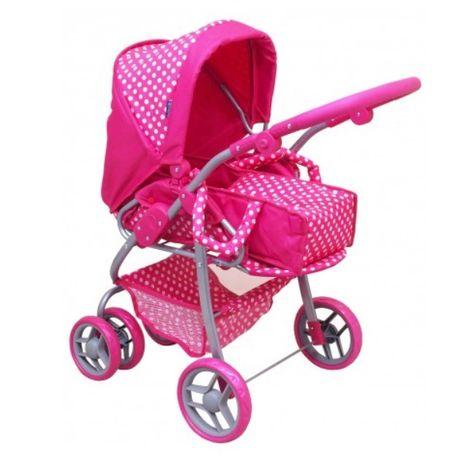 Hluboký kočárek pro panenky Baby Mix 9661-M1422