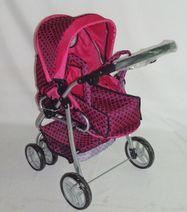Hluboký kočárek pro panenky Baby Mix 9661-M1509