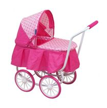 Hluboký kočárek pro panenky Baby Mix 9678-M1807W