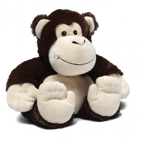 Hřejivá plyšová opice