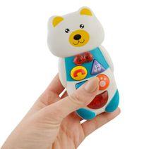 Interaktivní mobilní telefon - medvídek