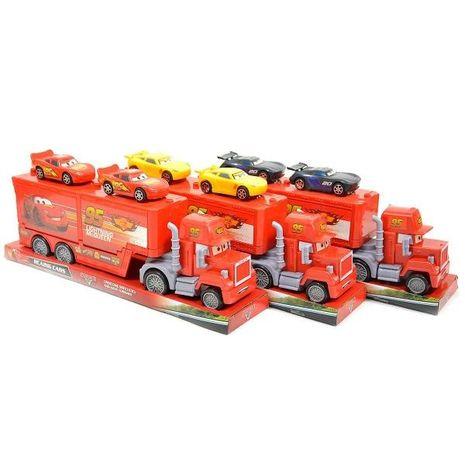 Kamion Mack Cars 37 cm + 2 auta