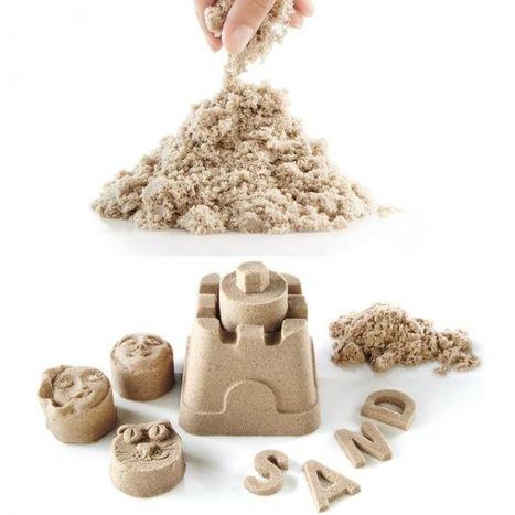 Kinetický písek 1 kg přírodní