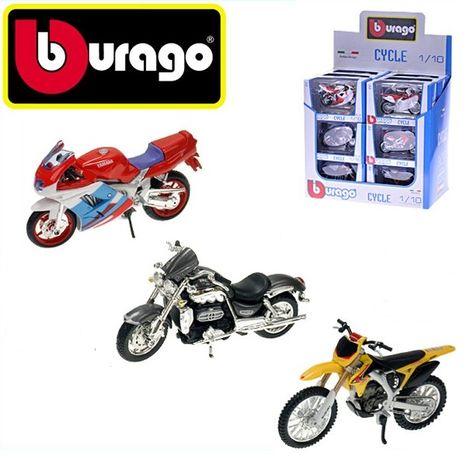 Kovový motocykl Bburago 1:18