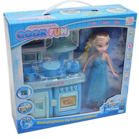 Kuchyňka pro panenky ze země ledu s princeznou Elsou