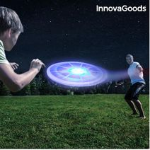 Létající talíř - LED frisbee