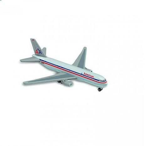 Malé kovové letadlo 13 cm - American