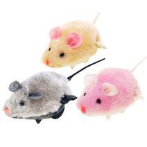 Plyšová myška na klíček
