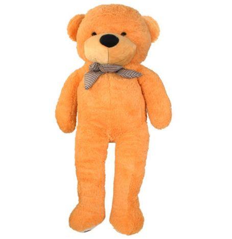 Plyšový medvěd Teddy 100 cm béžový