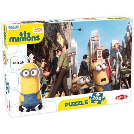 Puzzle Mimoň ve městě 200 dílny