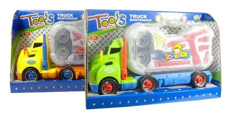 Dětské nákladní auto s nářadím