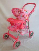 Sportovní kočárek pro panenky Baby Mix 9366-M1404