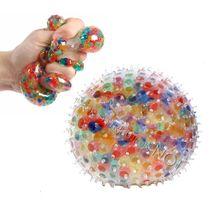 Strečová míč s kuličkami