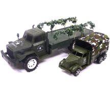 Souprava vojenských vozidel
