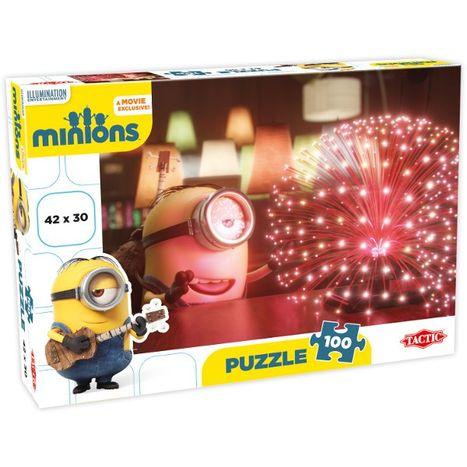 TACTIC Puzzle 100 dílny - Mimoni