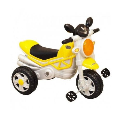 Tříkolová motorka yellow HZ-221 Baby Mix