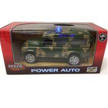 Vojenský Jeep se světlem a zvukem