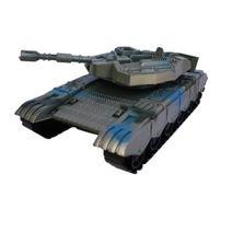 Vojenský tank na setrvačník 30 cm