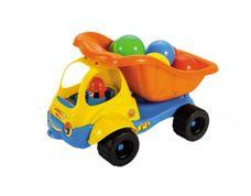 Vyklápěcí auto Bacek s míčky