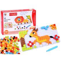 Vzdělávací puzzle zvířátka
